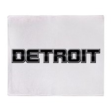 DETROIT Throw Blanket