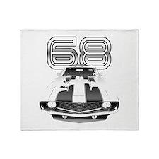 1968 Camaro Throw Blanket
