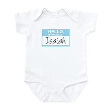 Hello, My Name is Isaiah - Infant Bodysuit