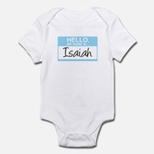 Hello, My Name is Isaiah - Infant Bodysuit