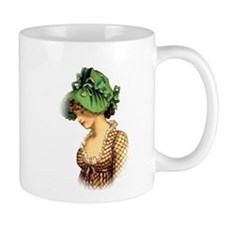 Green Bonnet Mug
