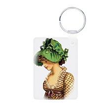 Green Bonnet Keychains