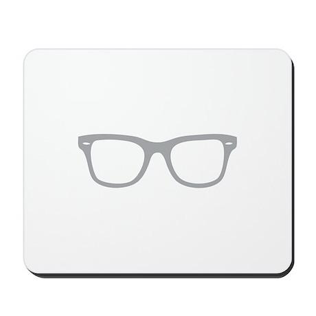Geek Glasses Mousepad