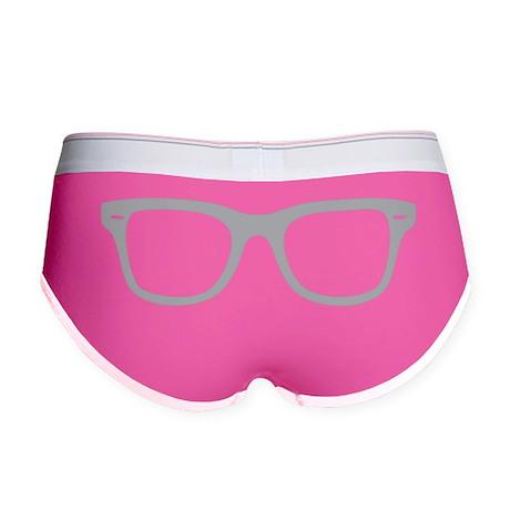 Geek Glasses Women's Boy Brief