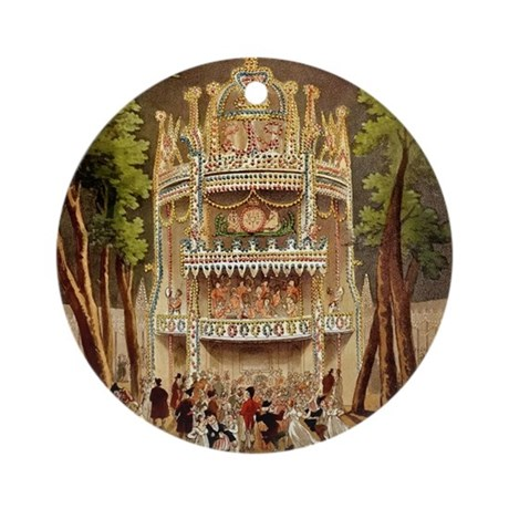 Vauxhall Gardens 1809 Ornament (Round)