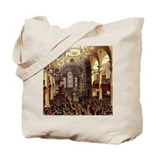 St Martins in the Fields 1809 Tote Bag