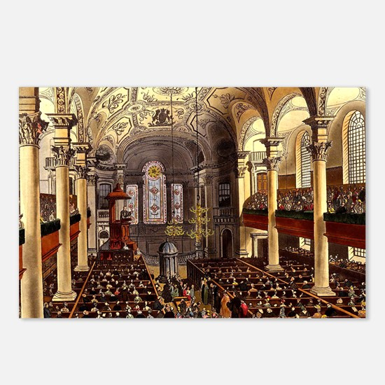 St Martins in the Fields 1809 Postcards (Package o