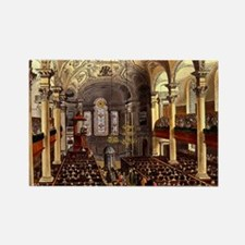 St Martins in the Fields 1809 Rectangle Magnet