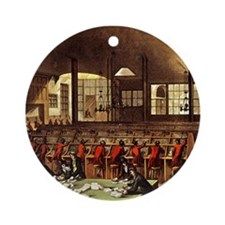 London Post Office 1809 Ornament (Round)
