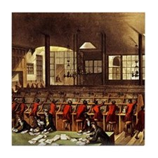 London Post Office 1809 Tile Coaster