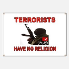 TERRORIST USA Banner