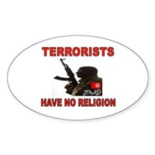 TERRORIST USA Decal