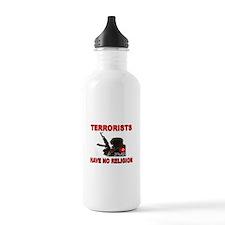 TERRORIST USA Water Bottle