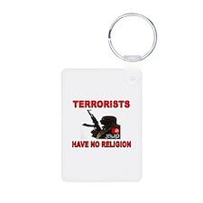 TERRORIST USA Keychains