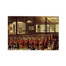 London Post Office 1809 Rectangle Magnet