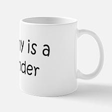 Mommy is a Bookbinder Mug