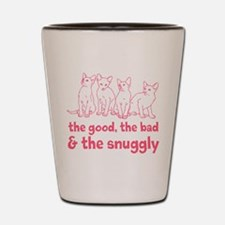 The Snuggly (pink) Shot Glass