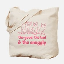 The Snuggly (pink) Tote Bag