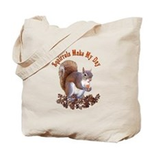 Squirrel Day Tote Bag