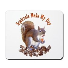 Squirrel Day Mousepad