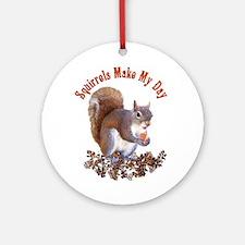 Squirrel Day Ornament (Round)