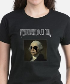 Washington Loved Black Metal Tee