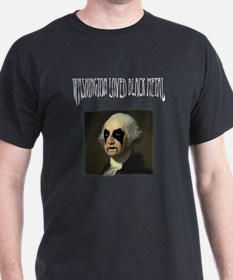 Washington Loved Black Metal T-Shirt