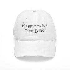 Mommy is a Copy Editor Baseball Cap