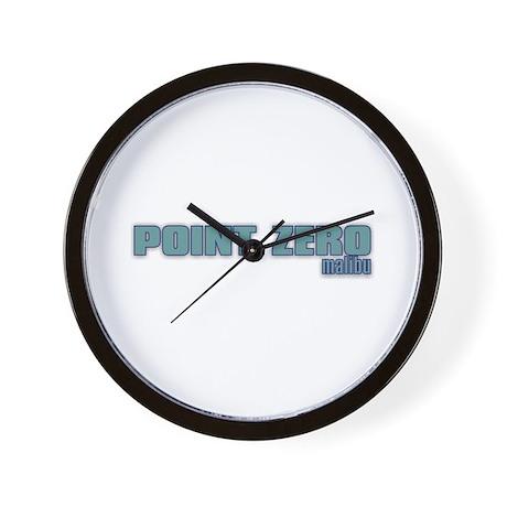 Pt. Zero Wall Clock