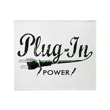 Plug-In Power Throw Blanket