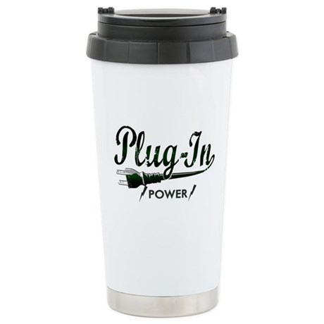 Plug-In Power Stainless Steel Travel Mug