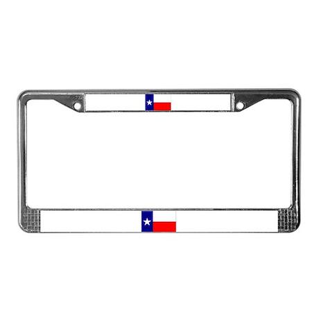 Texas State Flag License Plate Frame