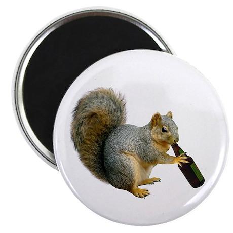 "Squirrel Beer 2.25"" Magnet (10 pack)"