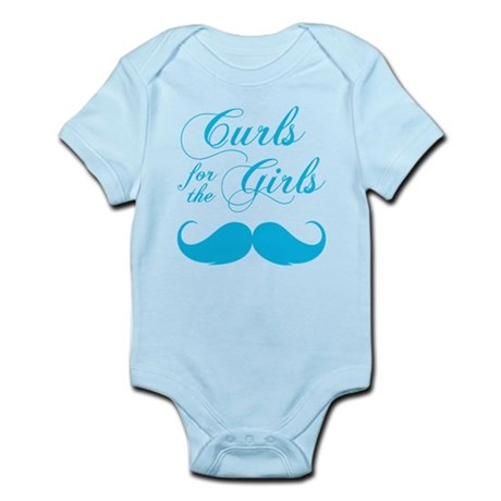 Curls for the Girls Infant Bodysuit