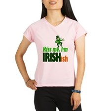 Kiss Me I'm Irish-ish Performance Dry T-Shirt
