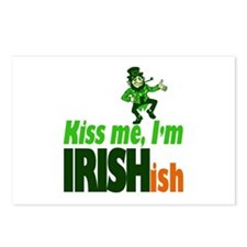 Kiss Me I'm Irish-ish Postcards (Package of 8)