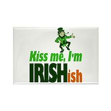Kiss Me I'm Irish-ish Rectangle Magnet
