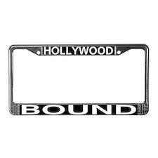 HOLLYWOOD BOUND License Plate Frame
