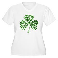 Irish Shamrock Skulls T-Shirt