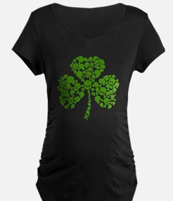 Irish Shamrock Skulls T-Shirt