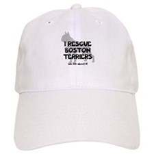I RESCUE Boston Terriers Baseball Cap