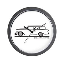 1956 Chevrolet 150 Handyman Wall Clock