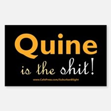 """Quine Is The Shit!"" Decal"