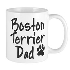 Boston Terrier DAD Mug