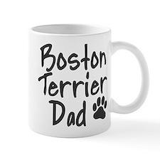 Boston Terrier DAD Small Mugs