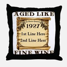 Fine Wine 1927 Throw Pillow