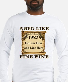 Fine Wine 1927 Long Sleeve T-Shirt