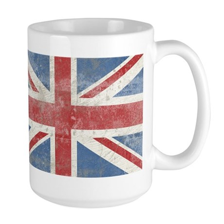 Vintage Union Jack Large Mug