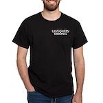 Hasslein Books 2-sided Black Shirt
