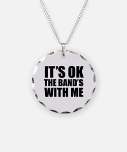 The band's with me Necklace